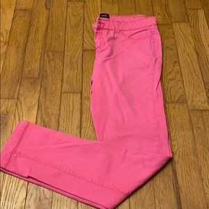 Rue 21 pink skinny jeans